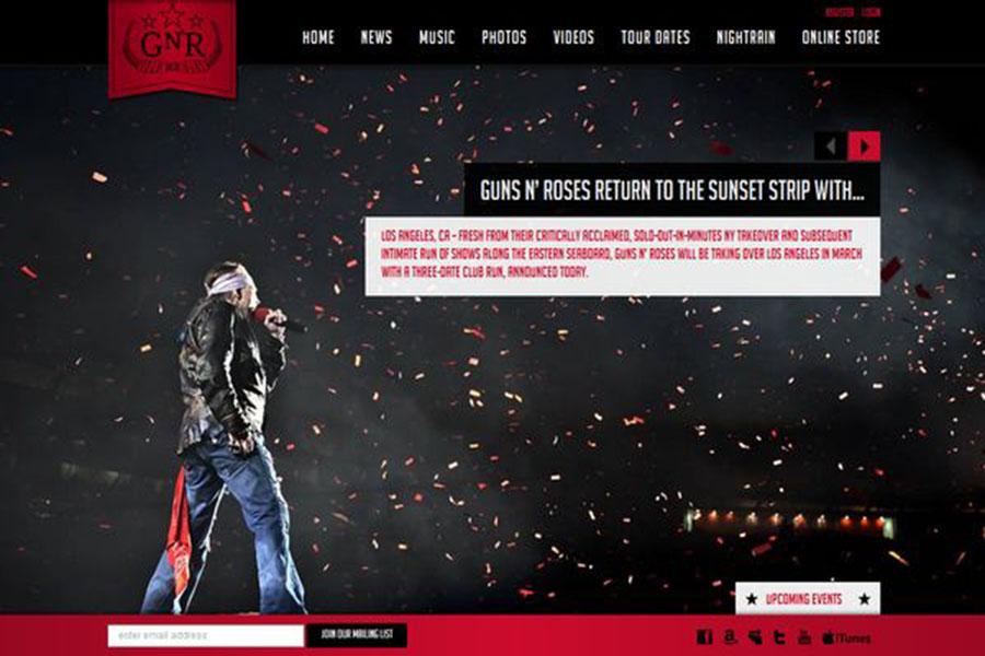 Thiết kế trang web âm nhạc