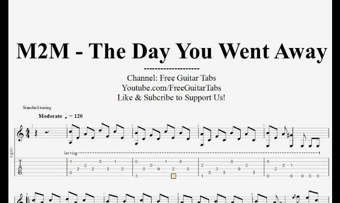 Học tiếng anh qua lời bài hát với The day you went away