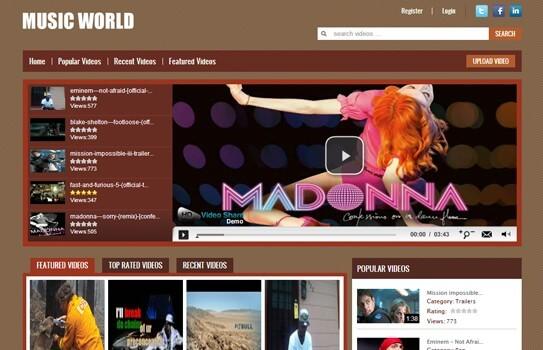Lợi ích của thiết kế website nghe nhạc
