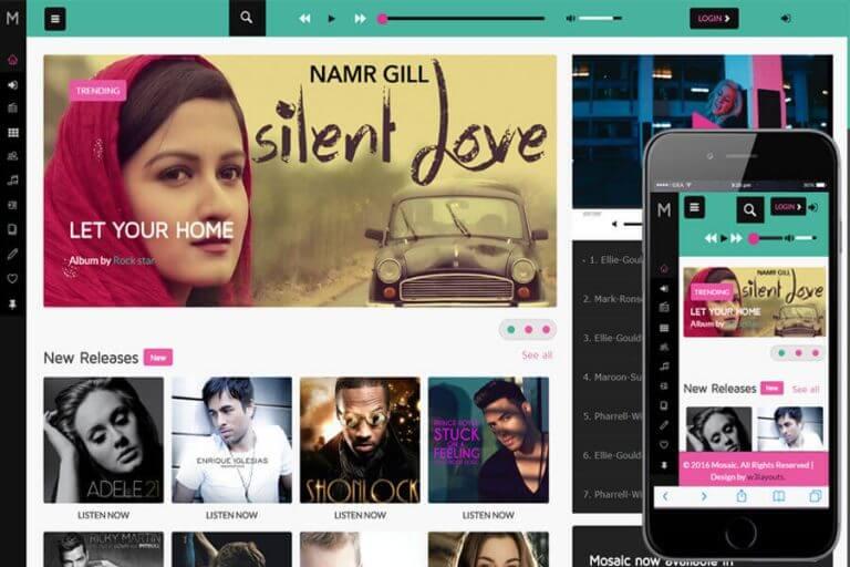 Thiết kế website nghe nhạc trực tuyến cần phải có những chức năng cơ bản như khả năng tìm kiếm bài hát và nghe nhạc online, tạo tài khoản người dùng.