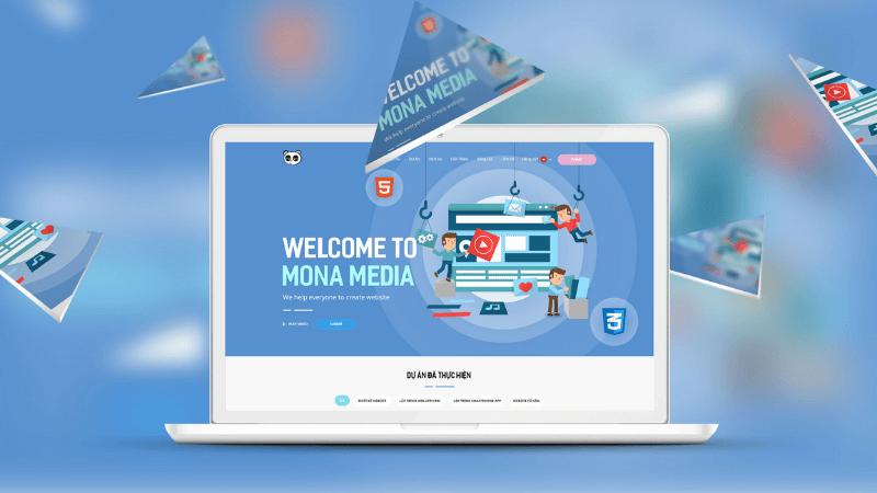 công ty thiết kế app nghe nhạc Mona Media